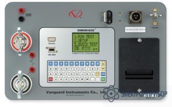 Микроомметр (измеритель сопротивления контактов) DMOM-600
