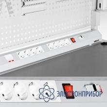 Дополнительное оборудование электропанели Розетка с заземлением одинарная