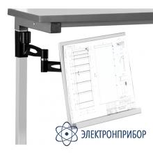 Подставка для чертежей для столов со стальными стойками ППЧ-01