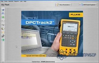 Программное обеспечение для калибраторов fluke 753 и fluke 754 Fluke 750SW DPC/TRACK2