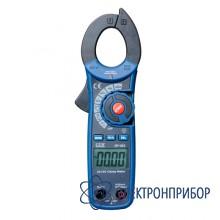 Профессиональные токовые клещи для измерения постоянного и переменного тока DT-351