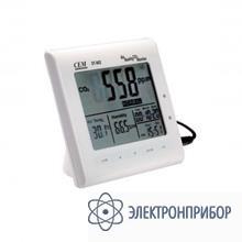 Анализатор качества воздуха настольный с часами и календарем DT-802