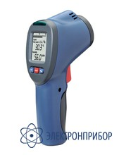 Пирометр с индикацией точки росы и двойным лазерным указателем DT-8663