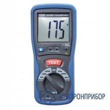 Тестер-измеритель сопротивления петли фаза-нуль и тока короткого замыкания DT-5301