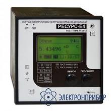 Счетчик электрической энергии многофункциональный класса a Ресурс-Е4-5-А-в