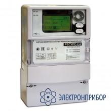 Счетчик электрической энергии многофункциональный класса s Ресурс-Е4-5-S-н