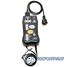 Портативный прибор для тестирования электропроводки MI 2150 Installcheck