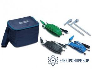 Комплект для измерения сопротивления заземляющих устройств по 3-х проводной схеме (штыри + провода 50 м) S2027