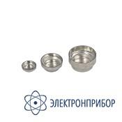Круглая алюминиевая чашка (диаметр 8 мм, 0.05 мл, 100 шт./уп) AX-ROUND-PAN-S