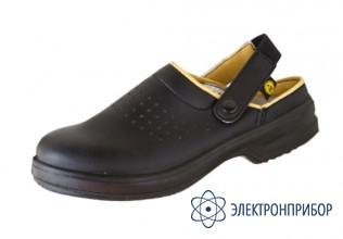 Антистатические туфли-сабо CLOG черный