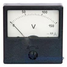 Вольтметр щитовой аналоговый постоянного тока ЭВ2231 кл.1,5