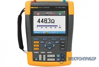 Цифровой запоминающий осциллограф-мультиметр (скопметр) с комплектом scc290 Fluke 190-062/S