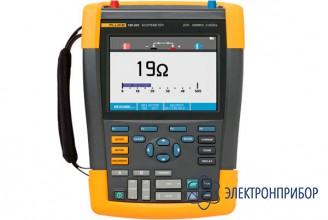 Цифровой запоминающий осциллограф-мультиметр (скопметр) с комплектом scc290 Fluke 190-202/S
