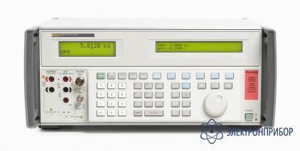 Многоцелевой калибратор с опцией калибровки осциллографа частотой 600 мгц Fluke 5502A/6
