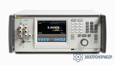 Многофункциональный  калибратор с широкополосным выходом 30 мгц переменного напряжения без порта usb на передней панели Fluke 5730A/03S
