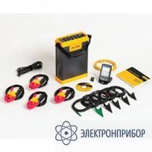 Регистратор энергии для трехфазной сети (с токовыми клещами) Fluke 1750