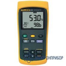 Одноканальный цифровой термометр с регистрацией измерений Fluke 53 II
