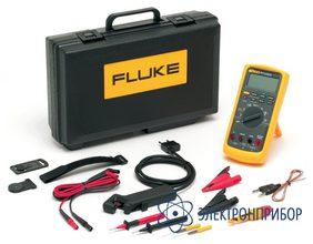 Полный пакет средств диагностики автомобиля со всем необходимым заключен в автомобильном мультиметре Fluke 88V/A