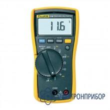 Мультиметр для специалистов по системам обогрева, вентиляции и кондиционирования воздуха с функцией измерения температуры и микротоков Fluke 116
