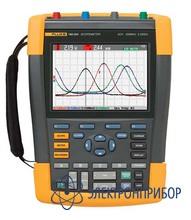 4-х канальный переносной осциллограф (200 мгц) с комплектом scc290 Fluke 190-204/S