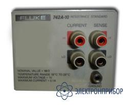 Стандарт сопротивления 10 ом Fluke 742A-10