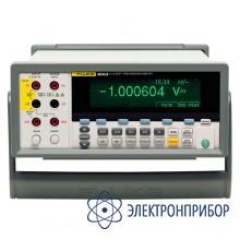 Прецизионный мультиметр с разрядностью 6,5 знаков + по и кабель Fluke 8845A/SU 220V