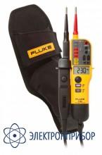 Тестер напряжения в комплекте с футляром h15 Fluke T150 kit