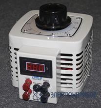 Лабораторный автотрансформатор однофазный TDGC2-1K (цифровой)