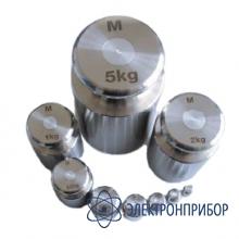 Гиря цилиндрической формы с головкой, класс точности m1, номинальная масса 10 г M1-10г