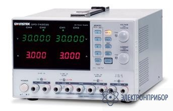 Многоканальный линейный источник постоянного тока GPD-72303S