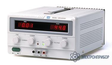 Источник питания постоянного тока серии gpr-m GPR-76030D