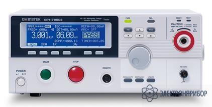 Установка комплексная для проверки параметров электробезопасности GPT-79802