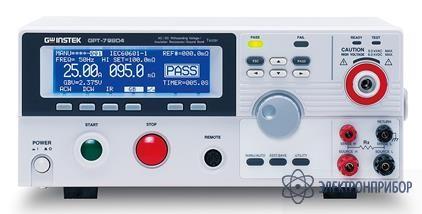 Установка комплексная для проверки параметров электробезопасности GPT-79804