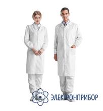 Лабораторный халат для чистых помещений, размер l 51-400-0103