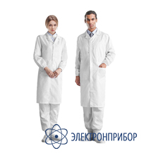 Лабораторный халат для чистых помещений 51-400-0005