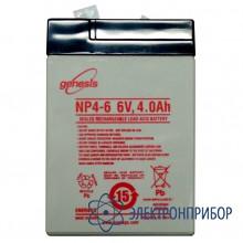 Герметичная перезаряжаемая батарея (6v, 4 а/ч) HC-02i