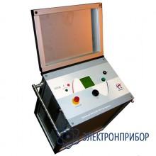 Высоковольтная снч установка повышенной мощности для испытаний кабелей с изоляцией из сшитого полиэтилена, 68 кв HVA60-2