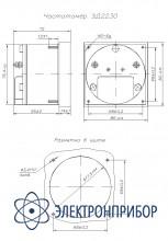 Частотомер щитовой аналоговый переменного тока ЭД2230
