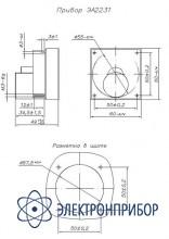 Амперметр щитовой аналоговый постоянного тока ЭА2231