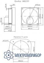 Микроамперметр щитовой аналоговый постоянного тока ЭВ2233 кл. 2,5