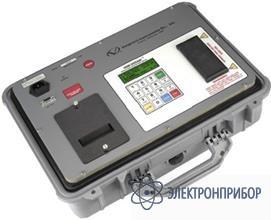 Измеритель сопротивления изоляции 5 кв со встроенным принтером IRM-5000P