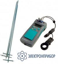 Измеритель сопротивления заземления ИС-10 (комплектация с клещами и зондами)
