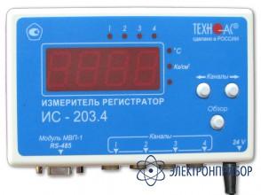 Измеритель-регистратор (универсальный) ИС-203.4