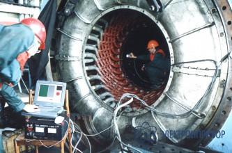 Устройство автоматизированного контроля замыканий листов активной стали сердечников электрических машин Интроскан-ИС200
