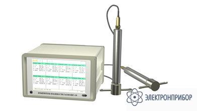 Стационарный многоканальный измеритель-регулятор микровлажности газов ИВГ-1/16-Т-16А