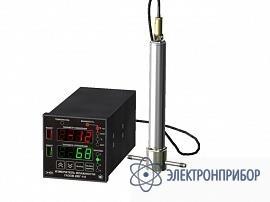 Стационарный четырёхканальный измеритель-регулятор микровлажности газов в щитовом исполнении корпуса ИВГ-1/4-Щ2-8А