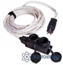 Переходник к кабелю питания с выпрямителем до 32а (модификация 2), длина 5м СКБ010.25.00.000-01