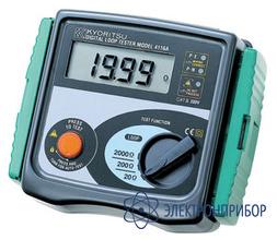 Измеритель сопротивления фаза-ноль и тока короткого замыкания KEW 4118A