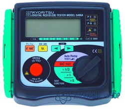 Измеритель параметров устройств защитного отключения KEW 5406A