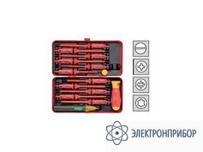 Набор e-smart из 12 инструментов в металлическом боксе KL300IS